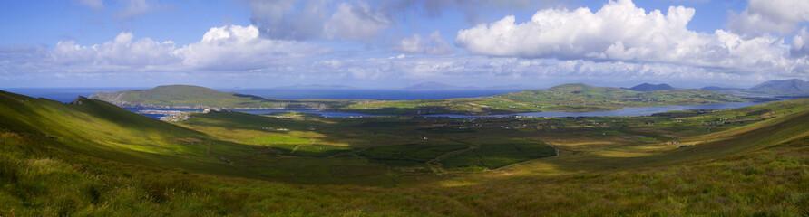 Blick auf Portmagee, Irland