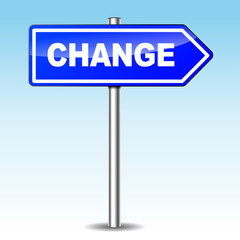 Vector change directional sign