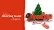 Christmas promo customizable