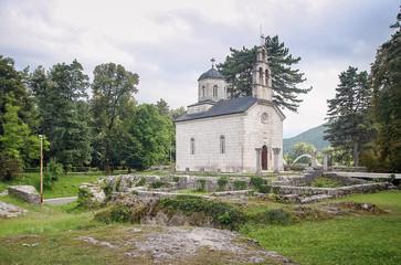 Court Church in Cetinje, Montenegro