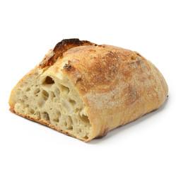 White crusty bread
