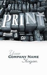 Print close-up customizable