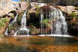 Cascadas y poza Río Tera. Cañón del Tera. poster