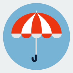 Vector umbrella icon