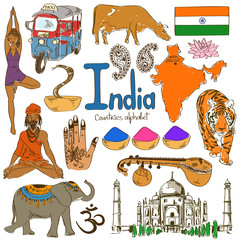 Collection of India icons
