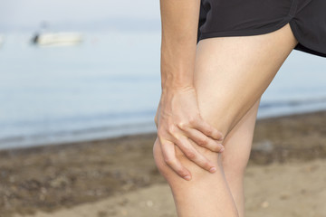 Knee pain during jogging