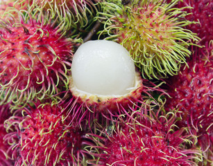 Rambutan fruits