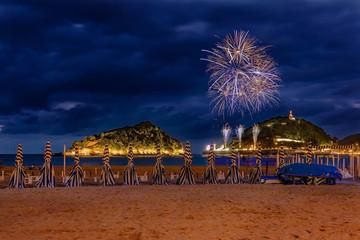 San Sebastian fireworks