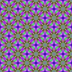 Stars in seamless pattern