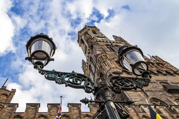 Old center of Brugge, Flanders, Belgium