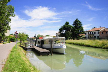 River boat in Brenta