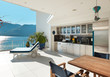 beautiful terrace of a penthouse - 70354942