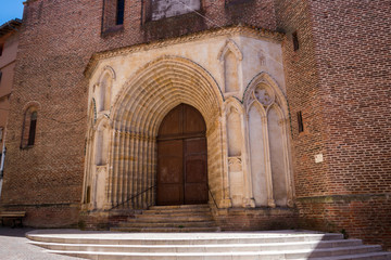 Porte entrée église Saint-Michel