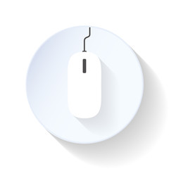 Mouse flat icon
