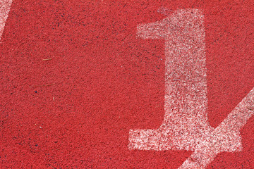 The number used for athletes
