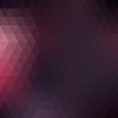 Purple geometric background, triangles