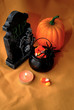 Spooky Halloween Decorations with Candy Corn