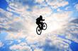 bisikletle havalarda uçmak