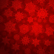 Seamless deep red christmas pattern. EPS 10