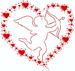serce z serce i kupidyn