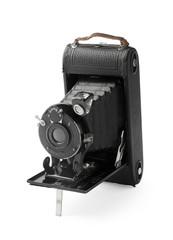 Vintage bellows photo camera