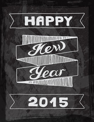 Vector illustration New year Hand drawn