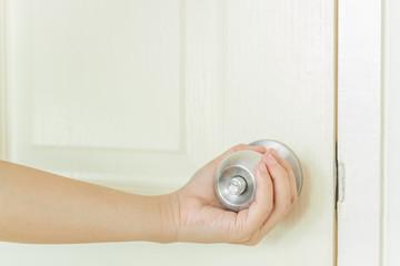 open door handle