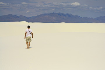 The loneliness of a desert