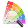 Vector Palette with Loupe