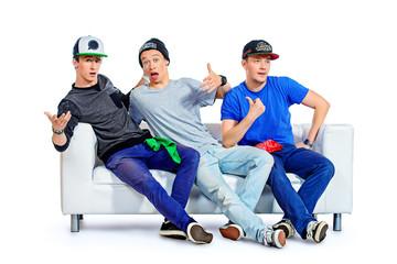 expressive boys