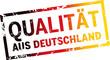 Stempel Qualität aus Deutschland