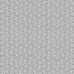 Gray swirls on a gray background .