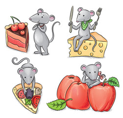 Mice and food
