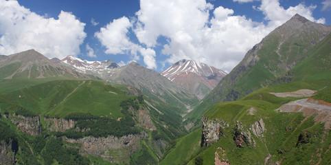 Kreuzpass, Kaukasus, Georgien, Europa