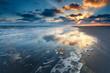 sunrise over North sea coast - 70359743
