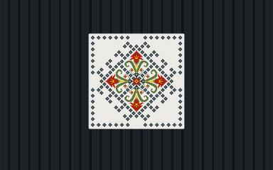 Authentic Bulgarian ornament 16