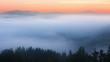 foggy mountain landscape. nature. 1920x1080. fog clouds.