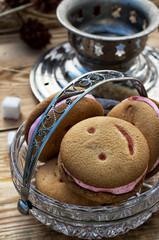 samovar,tea ceremony and sweets