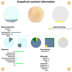 Grapefruit nutrient information