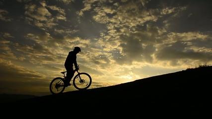 bisikletle teperi aşmak