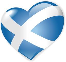 Heart Scottish Flag