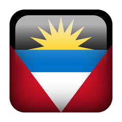 Antigua and Barbuda square flag button