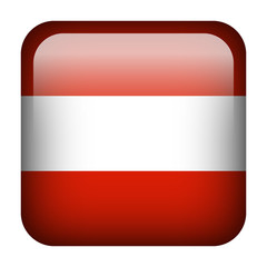 Austria square flag button