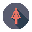 Female gender sign