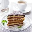 Homemade layer cake