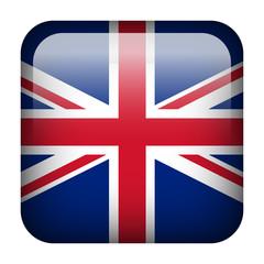 United Kingdom square flag button