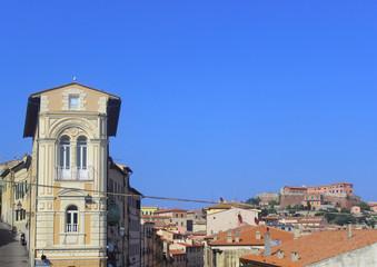 veduta del centro storico di Portoferraio, Elba Island, Italy
