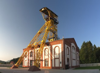 old mine Witold in Boguszow Gorce near Wlabrzich in Poland