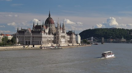 Parliament in Budapest the capital of Hungary