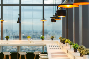 lamp design in dining room
